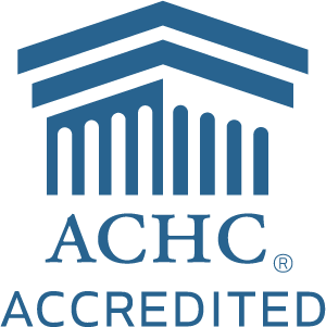 ACHC Accredited Logo White Background